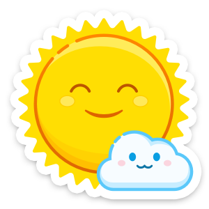 Weather Up ▴ Live Weather Maps messages sticker-1