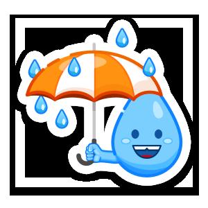 Weather Up - Live Storm Radar messages sticker-7