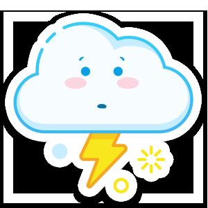 Weather Up - Live Storm Radar messages sticker-8