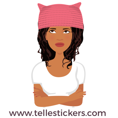 T'elle-Eva: Women's March Stickers messages sticker-7