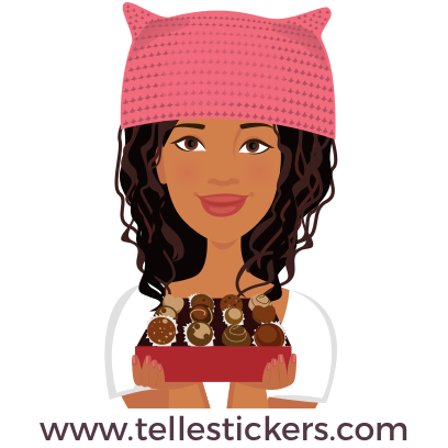 T'elle-Eva: Women's March Stickers messages sticker-11