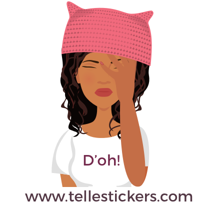 T'elle-Eva: Women's March Stickers messages sticker-9