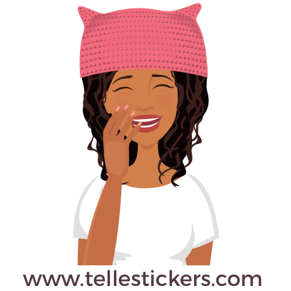 Telle-Eva: Women's March Stickers messages sticker-6