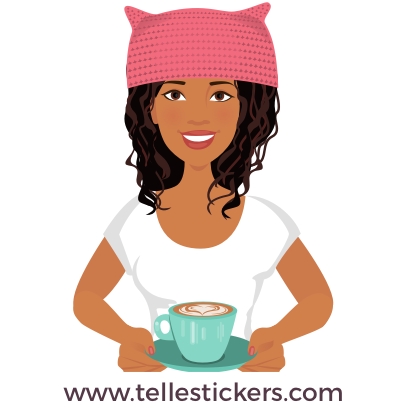 Telle-Eva: Women's March Stickers messages sticker-10