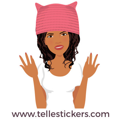 Telle-Eva: Women's March Stickers messages sticker-5