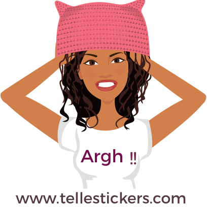 Telle-Eva: Women's March Stickers messages sticker-2