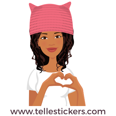 Telle-Eva: Women's March Stickers messages sticker-1