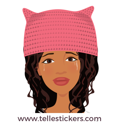 Telle-Eva: Women's March Stickers messages sticker-8