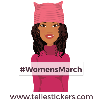 Telle-Eva: Women's March Stickers messages sticker-0