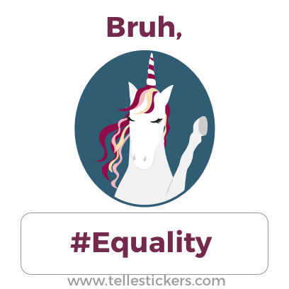 Telle Women's March stickers E messages sticker-8