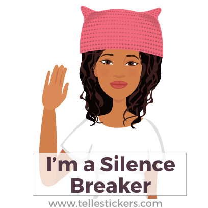 Telle Women's March stickers E messages sticker-2
