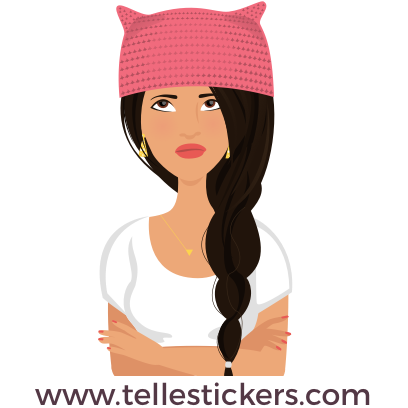 Telle-Lilly: Women's March Stickers messages sticker-7