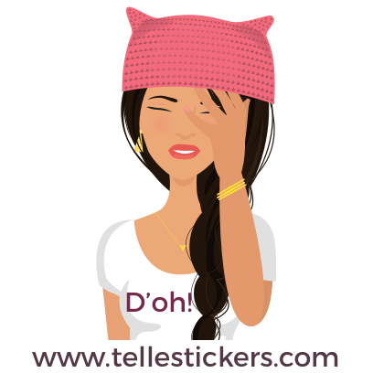 Telle-Lilly: Women's March Stickers messages sticker-9