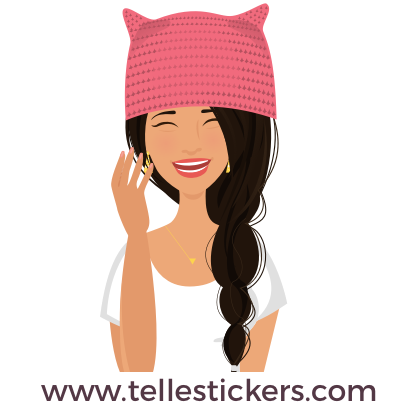 Telle-Lilly: Women's March Stickers messages sticker-6