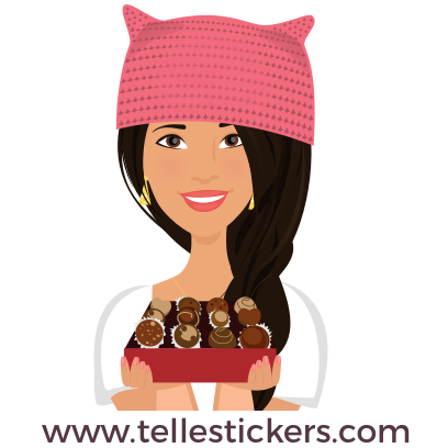 Telle-Lilly: Women's March Stickers messages sticker-11