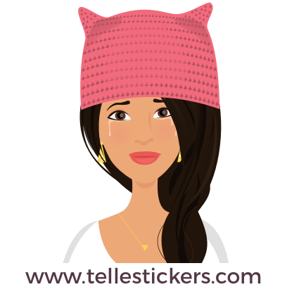 Telle-Lilly: Women's March Stickers messages sticker-8