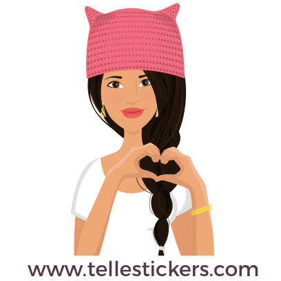 Telle-Lilly: Women's March Stickers messages sticker-1