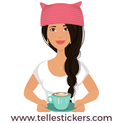 Telle-Lilly: Women's March Stickers messages sticker-10