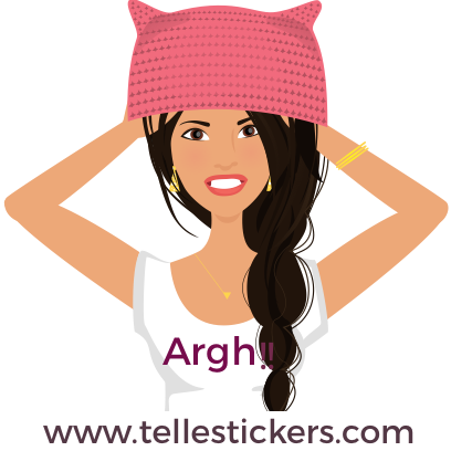 Telle-Lilly: Women's March Stickers messages sticker-2