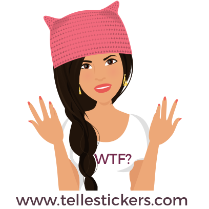 Telle-Lilly: Women's March Stickers messages sticker-5
