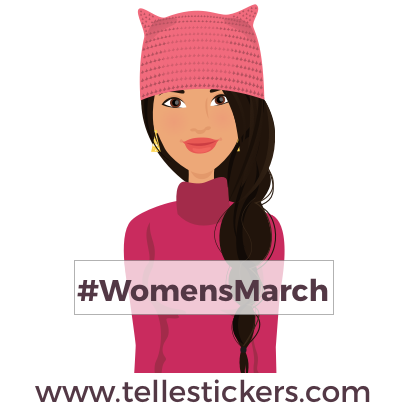 Telle-Lilly: Women's March Stickers messages sticker-0