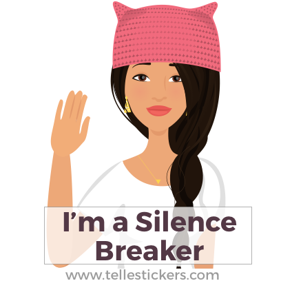 Telle Women's March stickers L messages sticker-2