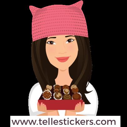 Telle-Donna: Women's March Stickers messages sticker-11