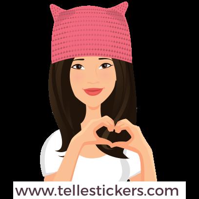 Telle-Donna: Women's March Stickers messages sticker-1