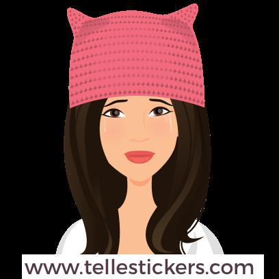 Telle-Donna: Women's March Stickers messages sticker-8