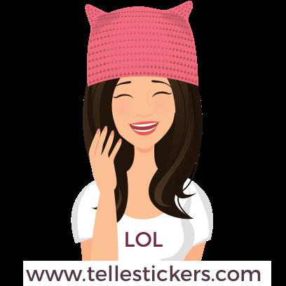Telle-Donna: Women's March Stickers messages sticker-6