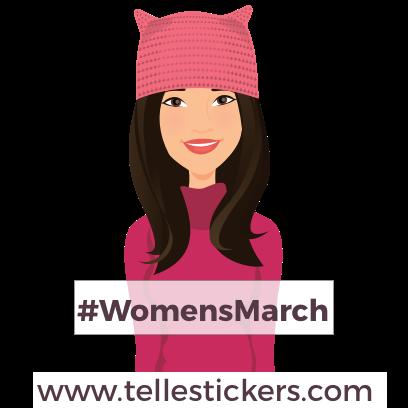 Telle-Donna: Women's March Stickers messages sticker-0