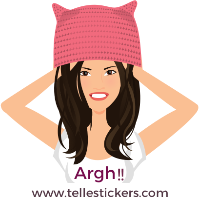 Telle-Donna: Women's March Stickers messages sticker-2
