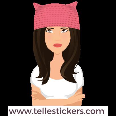 Telle-Donna: Women's March Stickers messages sticker-7