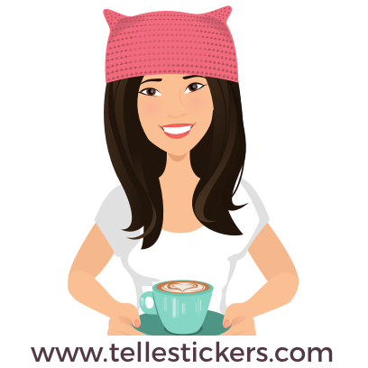 Telle-Donna: Women's March Stickers messages sticker-10