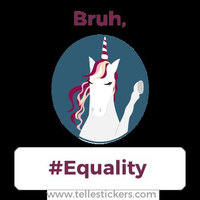 Telle Women's March stickers D messages sticker-8