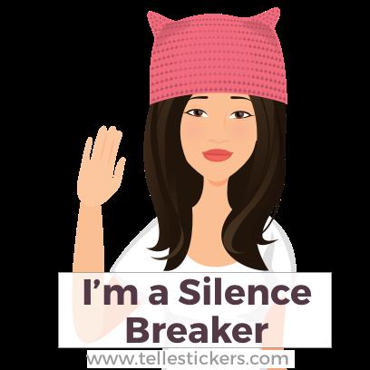 Telle Women's March stickers D messages sticker-2