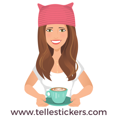 Telle-Kate: Women's March Stickers messages sticker-10