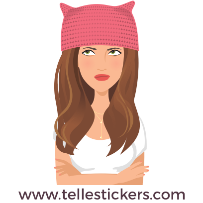 Telle-Kate: Women's March Stickers messages sticker-7