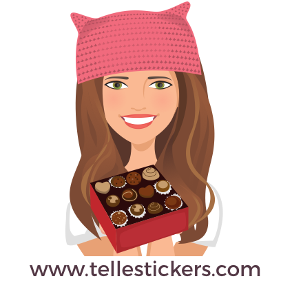 Telle-Kate: Women's March Stickers messages sticker-11