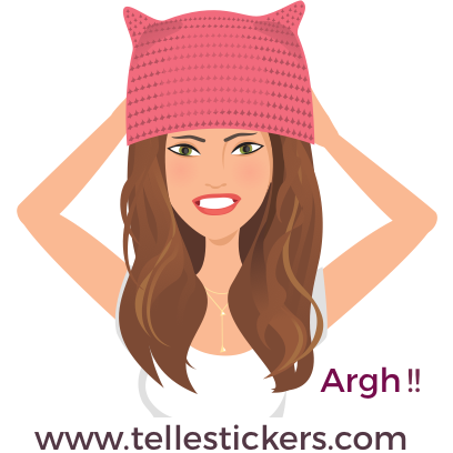 Telle-Kate: Women's March Stickers messages sticker-2