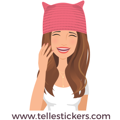 Telle-Kate: Women's March Stickers messages sticker-6