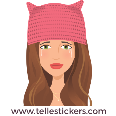 Telle-Kate: Women's March Stickers messages sticker-8
