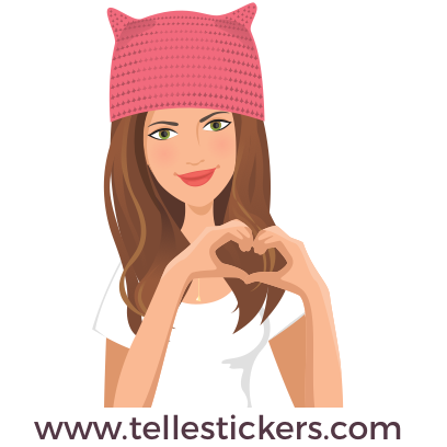 Telle-Kate: Women's March Stickers messages sticker-1