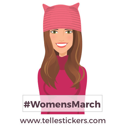 Telle-Kate: Women's March Stickers messages sticker-0