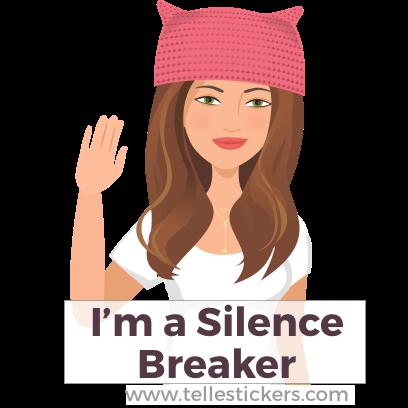 Telle Women's March stickers K messages sticker-2
