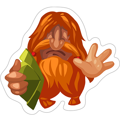Beardmen-Stickers messages sticker-1