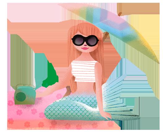 Milla Mermaid Sticker Pack messages sticker-10