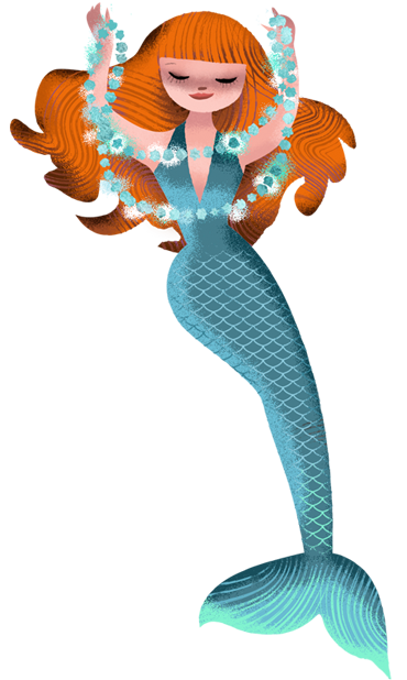 Milla Mermaid Sticker Pack messages sticker-8