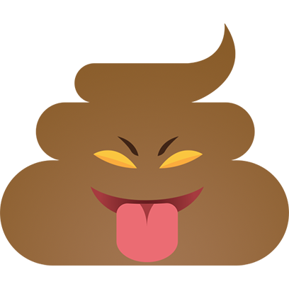 Funny Poo messages sticker-8