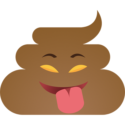 Funny Poo messages sticker-11